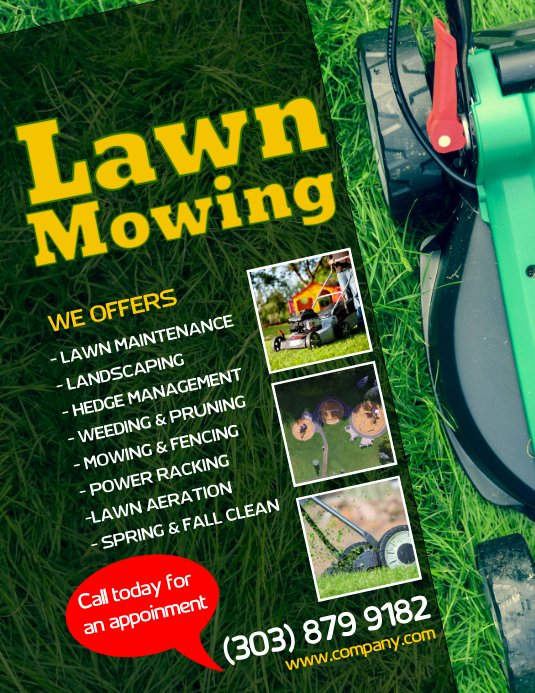 Lawn Mower Flyer Template Unique Customize 330 Lawn Service Flyer Templates