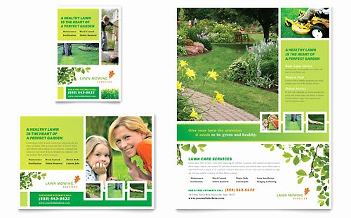 Lawn Mowing Flyer Templates Best Of Home Maintenance
