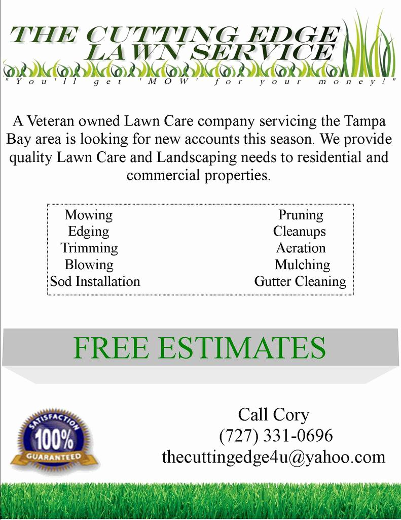 Lawn Mowing Flyer Templates Best Of Spring Lawn Care Flyer and Direct Marketing Ideas