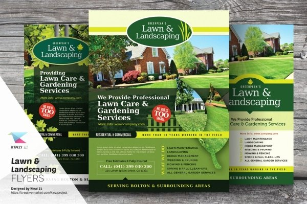Lawn Mowing Service Flyer Fresh 20 Lawn Care Flyers Psd Vector Eps Jpg Download