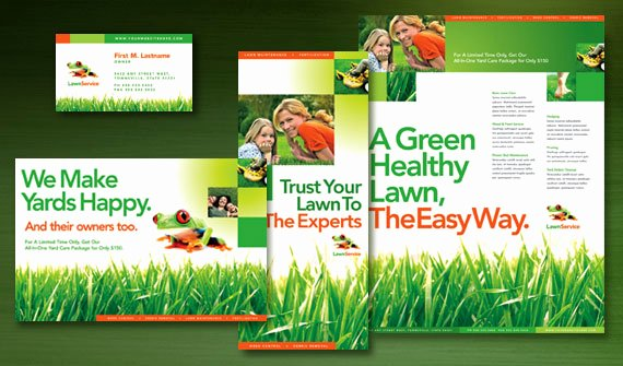 Lawn Service Flyer Ideas Luxury Small Business Graphic Design Ideas & Inspiration
