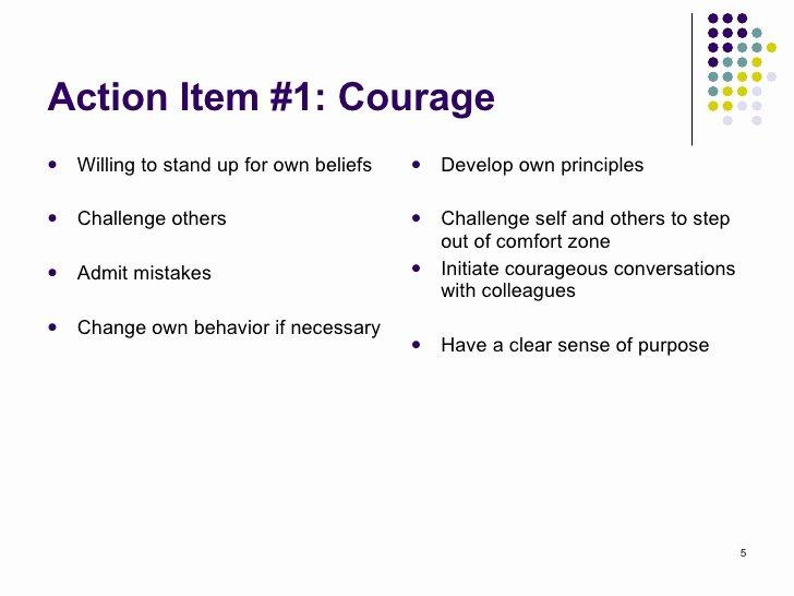 Leadership Action Plan Example Elegant Leadership Action Plan