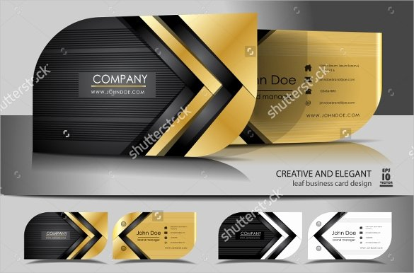 Leaf Shaped Business Cards Luxury 59 Free Business Card Templates Indesign Pages Word Psd
