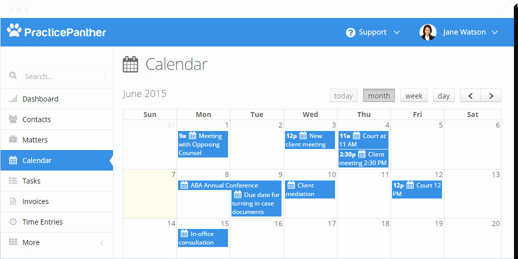 Legal Case Management Excel Template Lovely Legal Calendaring software & Email Integration for Law Firms