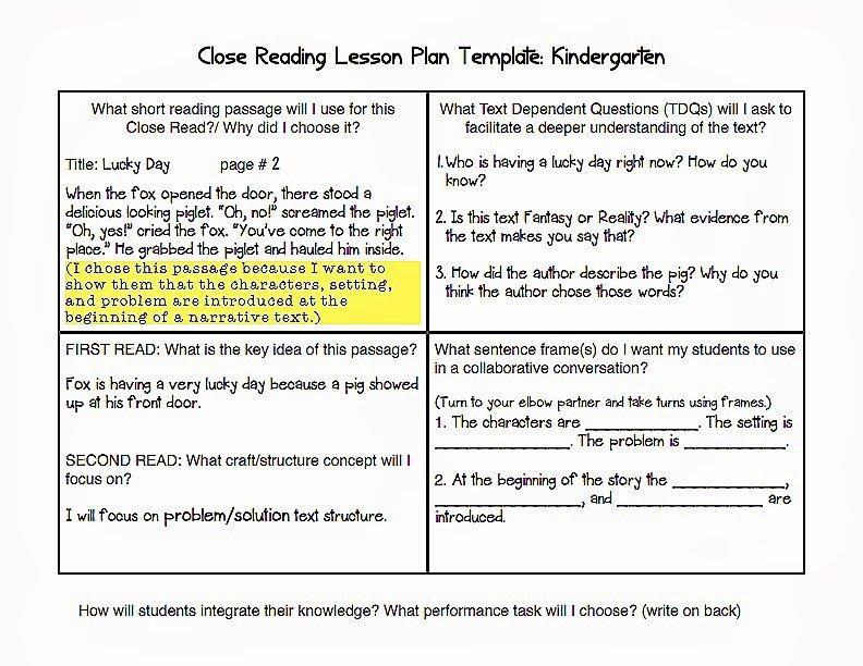 Lesson Plan Template Common Core Luxury Mon Core Blogger Mon Core Lesson Plan Template