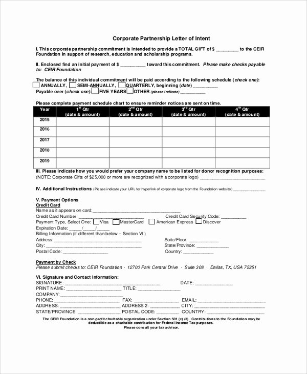 Letter Of Intent Pdf Best Of Sample Letter Of Intent 47 Examples In Pdf Word