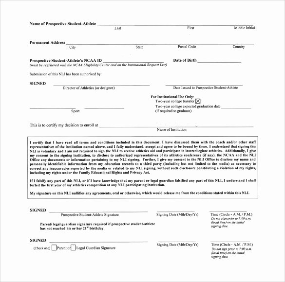 Letter Of Intent Pdf Fresh Sample National Letter Of Intent 7 Free Documents In Pdf Word