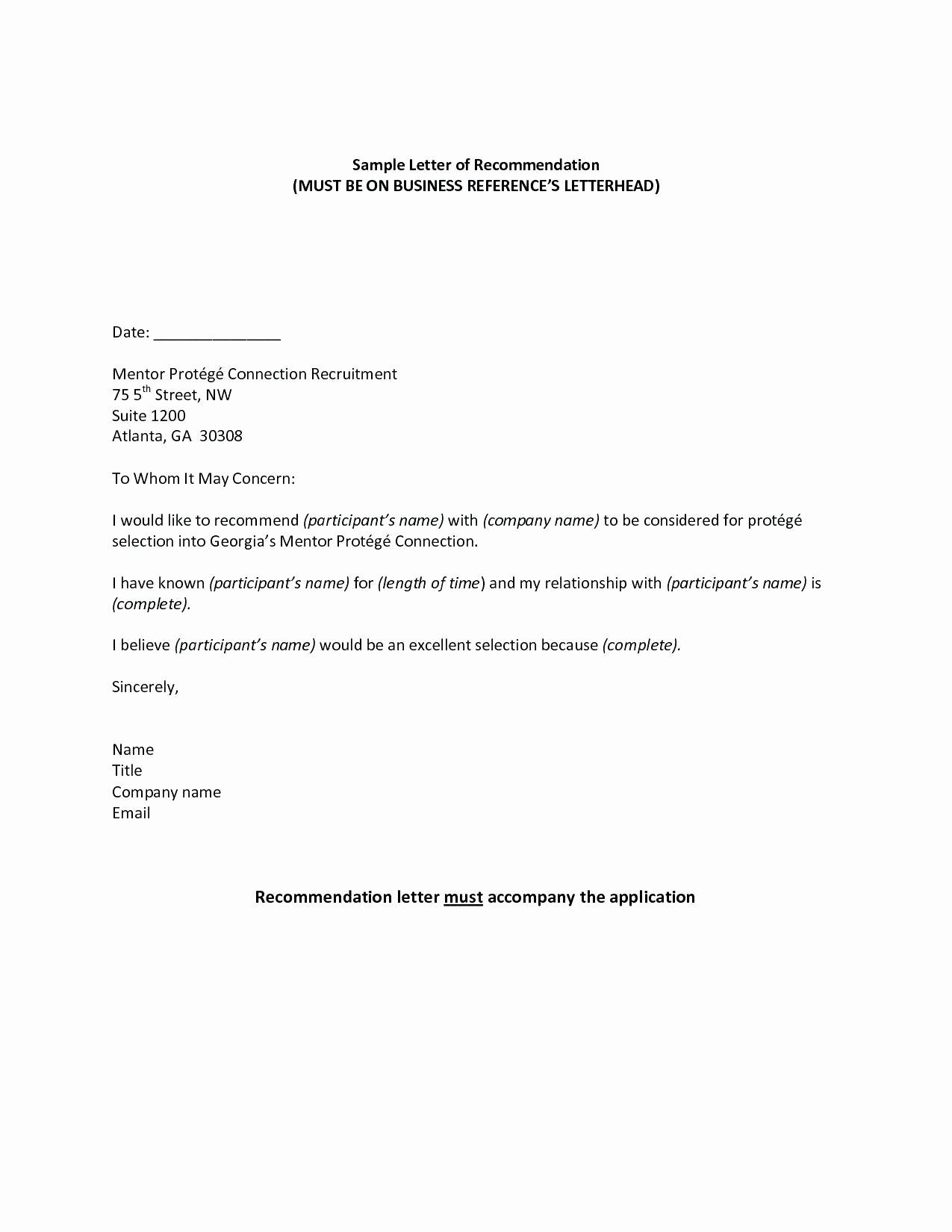 Letter Of Recommendation for Babysitter Best Of 60 Best Letter Re Mendation for Babysitter