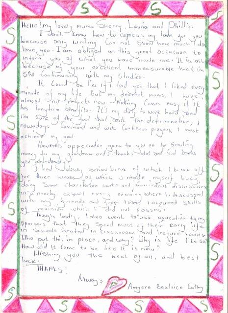 Letter Of Sponsorship for Student Beautiful Student Sponsorship Mtaala Foundation