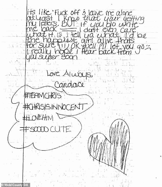 Letter to Boyfriend In Jail Awesome Chris Watts is Getting Love Letters Sent to Him In Prison