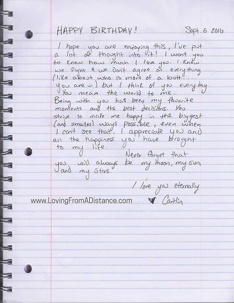Letter to Boyfriend Long Distance Best Of Love Letter Gallery