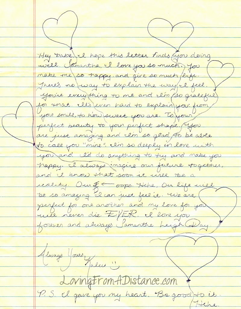 Letter to Boyfriend Long Distance Unique Long Distance Relationship Love Letter Love