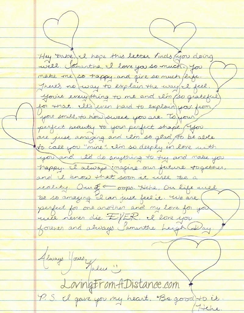 Letter to Boyfriend Long Distance Unique Long Distance Relationship Love Letter Love