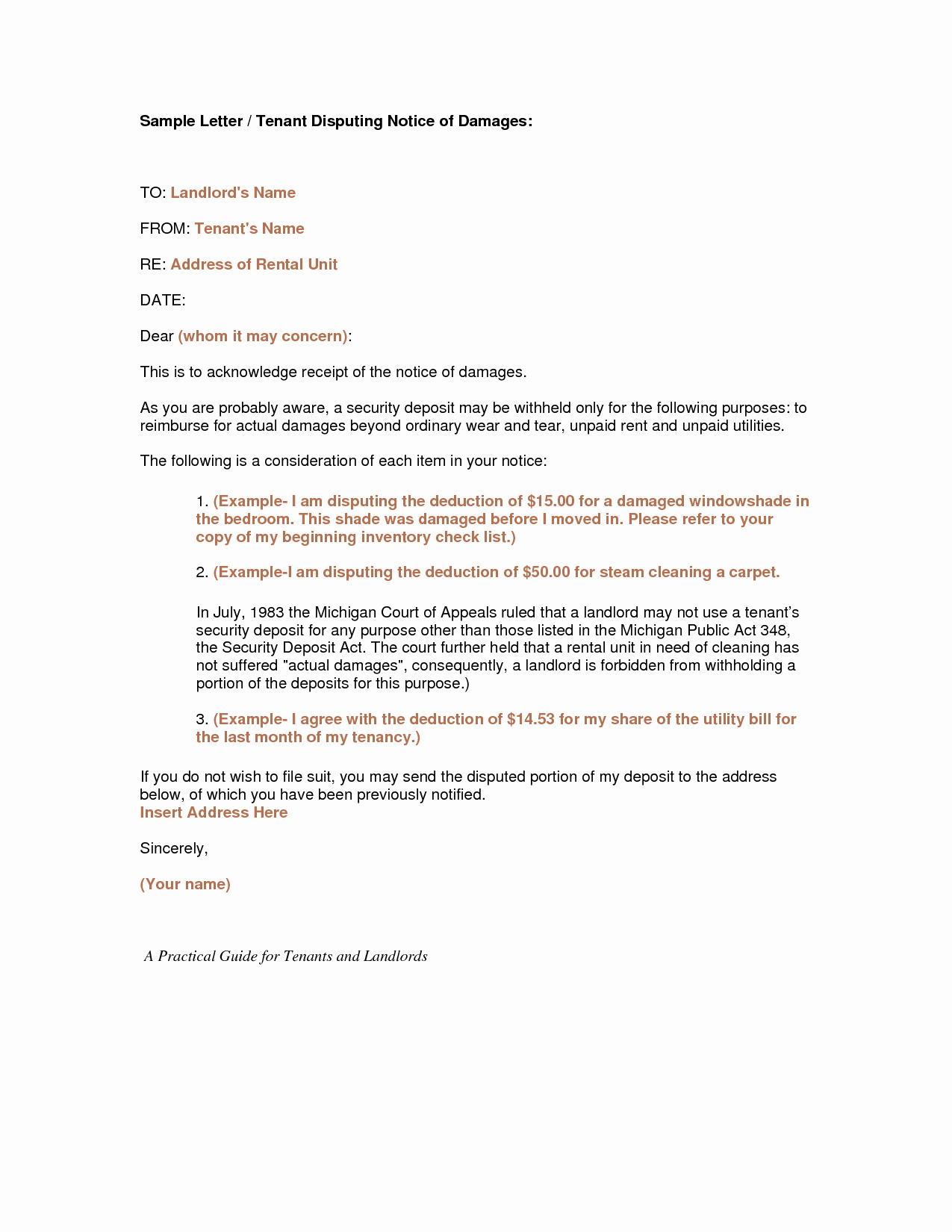 Letter to Landlord for Repairs Beautiful Best S Of Tenant Notice Letter for Repairs Tenant Inspection Notice Letter Template
