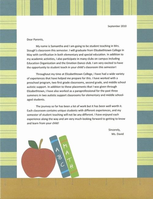 Letter to My Parents Unique 1000 Images About Student Teaching On Pinterest