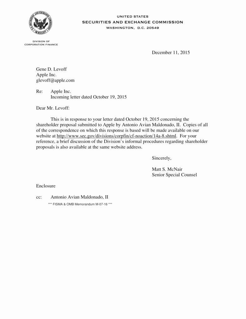 Letter to Shareholders Template Elegant 7 Holder Proposal Templates Pdf