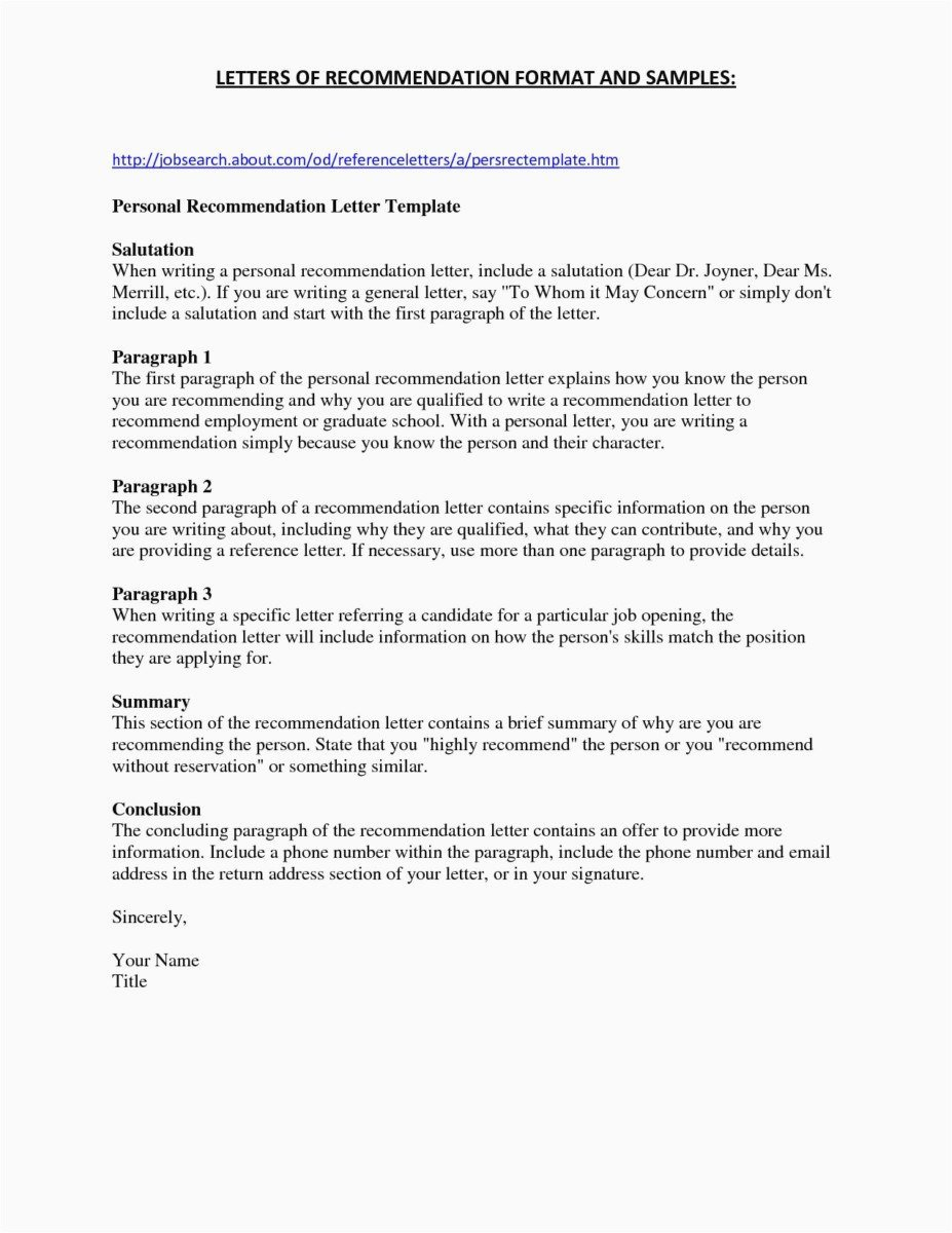 Letters Of Recommendations for Nurses Unique Addendum to Fer Letter Template Examples