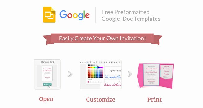 Library Card Invitations Template Fresh Cards and Pockets Free Google Invitation Templates