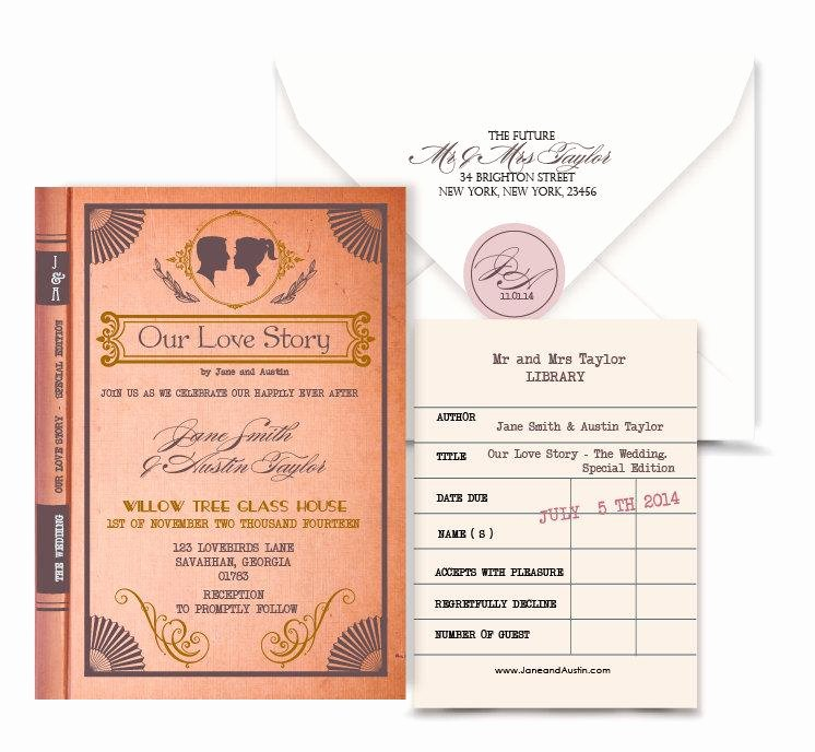 Library Card Invitations Template New 3 4 Library Card Template