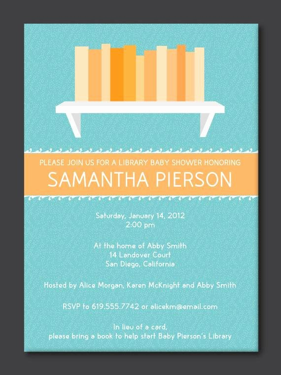 Library Card Invitations Template Unique Items Similar to Library Baby Shower Invitation On Etsy