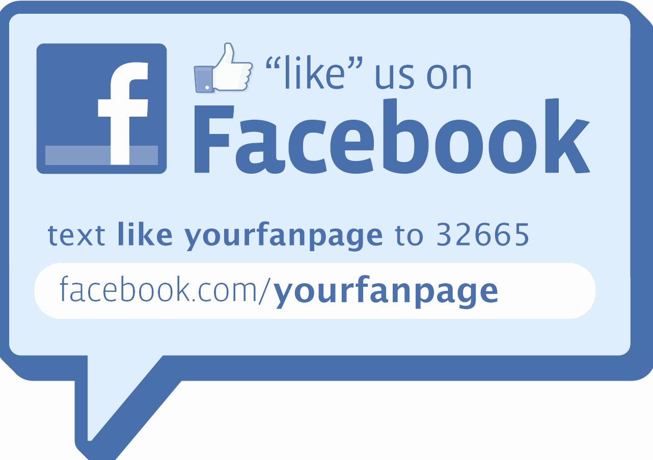 Like Us On Facebook Template New Make Your Own Like Decal or Sign Christopher S Penn Marketing Blog