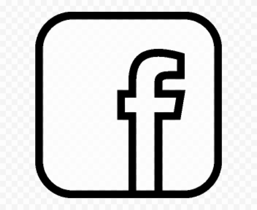 Like Us On Facebook Vector Elegant F Icon F Like Us and Vector Icon Black Transparent Clipart
