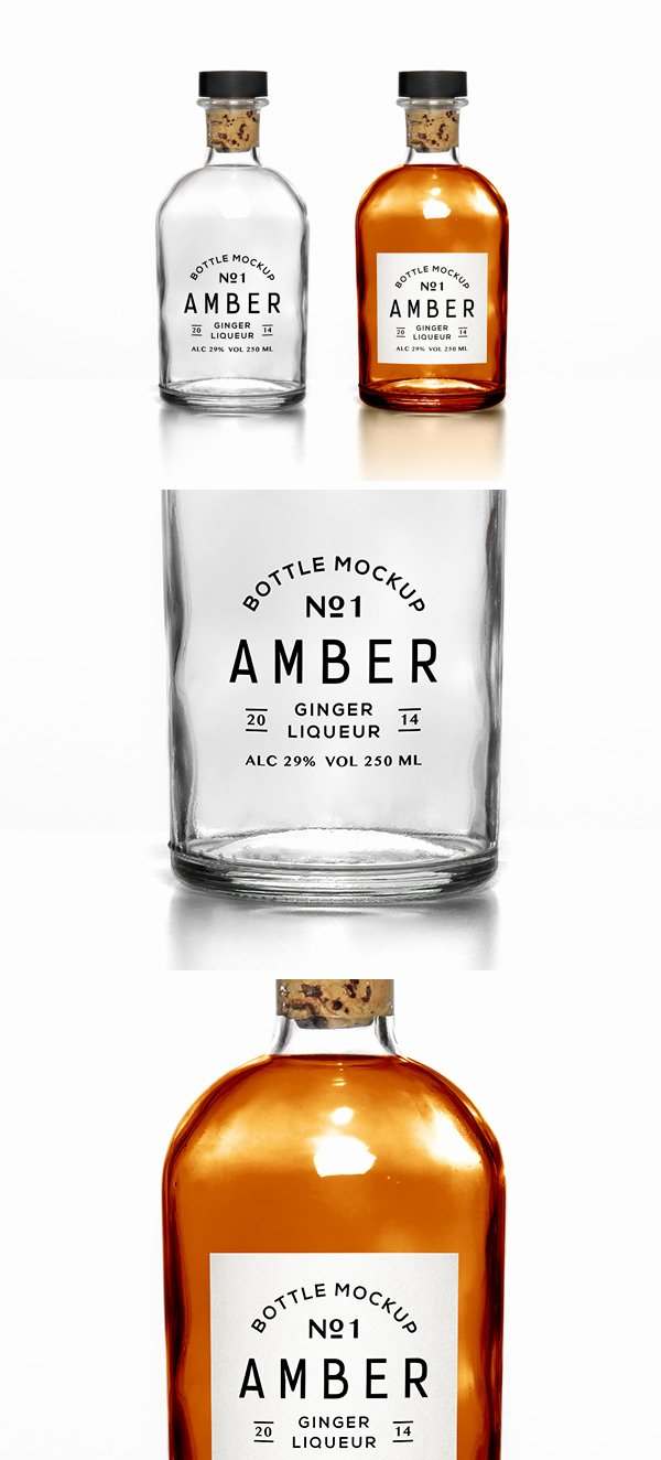 Liquor Bottle Labels Template Best Of Versatile Bottle Mockup
