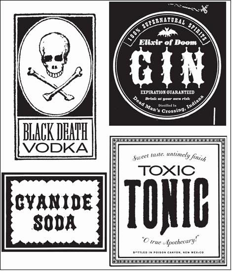 Liquor Bottle Labels Template Unique the Blue House It S Mwa Ha Ha Ha Halloween