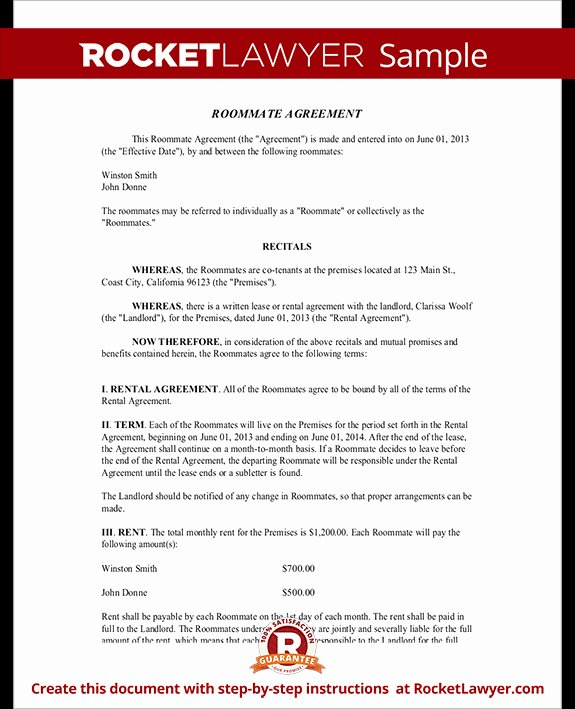 Living Agreement Contract Template Best Of 35 Living Agreement Template