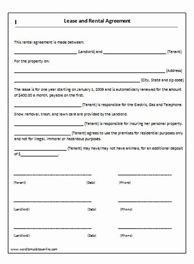 Living Agreement Contract Template Elegant House Lease Agreement Template