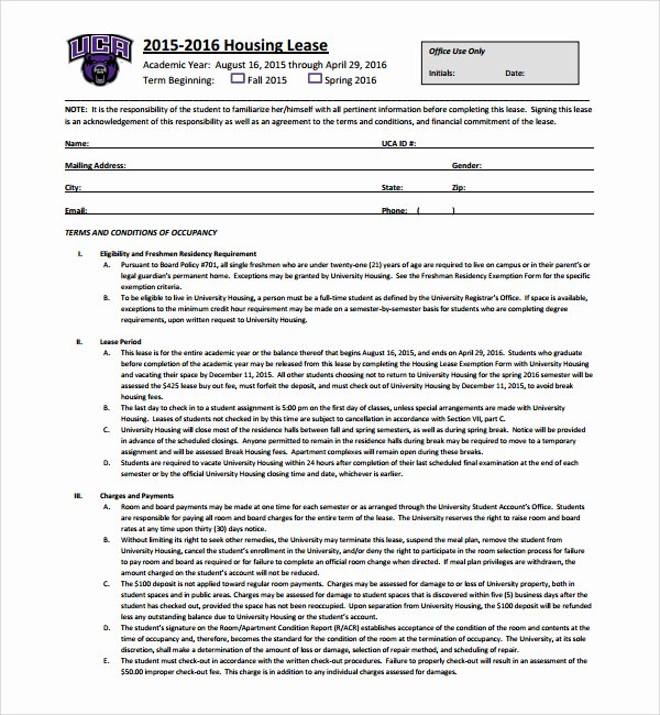 Living Agreement Contract Template Lovely 27 Of Housing Contract Template