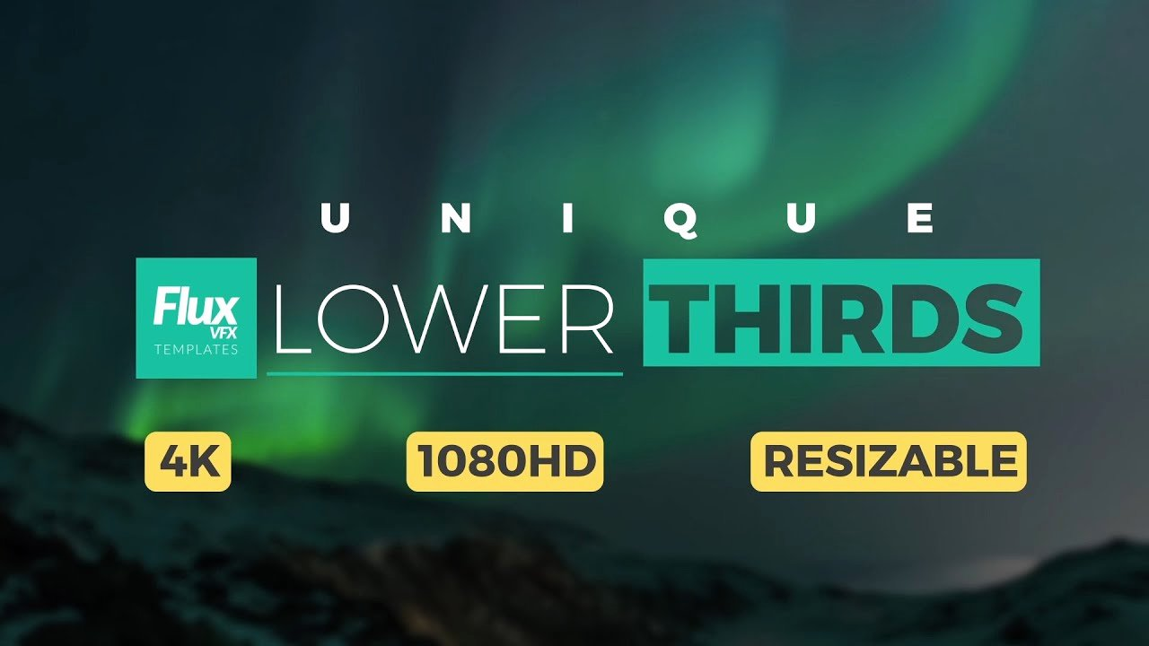 Lower Third after Effects Best Of Unique Lower Thirds after Effects Template