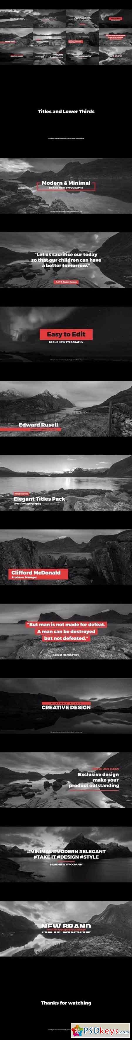 Lower Third Templates Photoshop Best Of Titles and Lower Thirds Premiere Pro Templates Free Download Shop Vector Stock