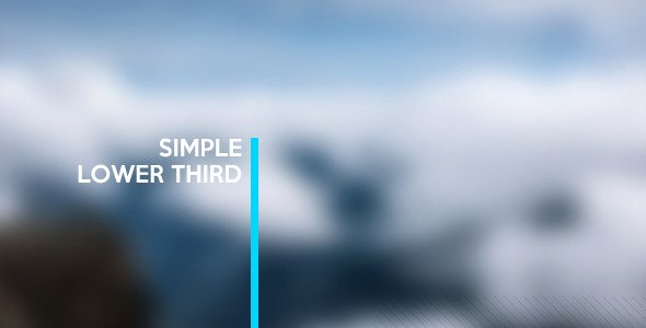 Lower Third Templates Photoshop Elegant Simple Lower Third by Marcinias