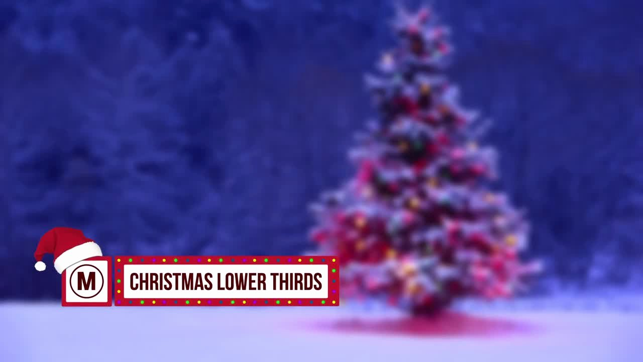 Lower Thirds after Effects Unique Christmas Lower Thirds after Effects Templates