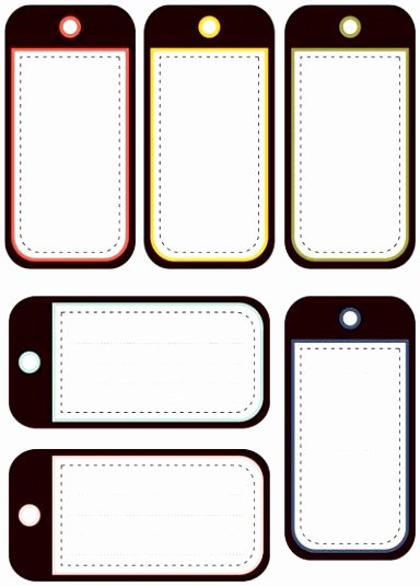 Luggage Name Tag Template Beautiful 5 Free Printable Luggage Tags Template Uruyt