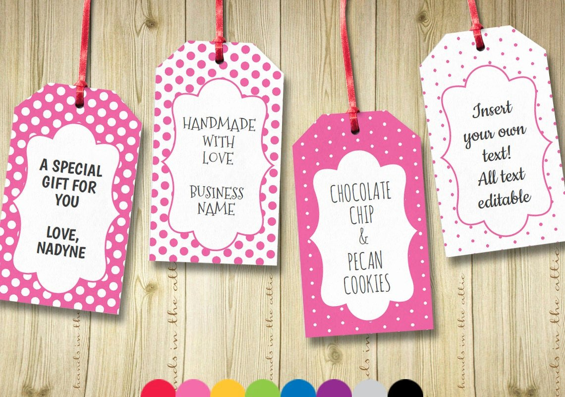 Luggage Tag Insert Template Awesome Editable T Tags T Tag Template Text by Handsintheattic