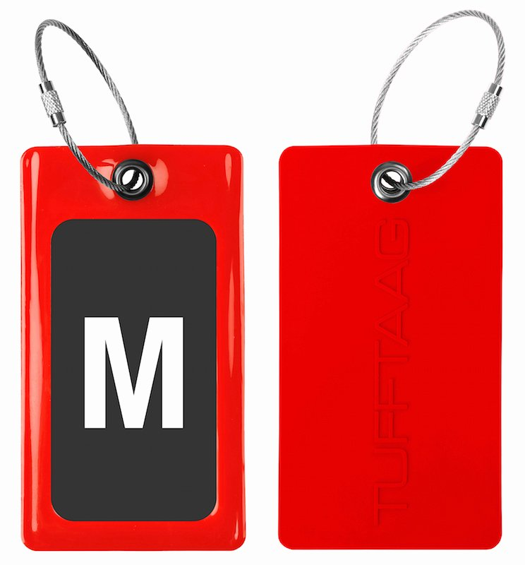 Luggage Tag Insert Template Fresh Luggage Tags Business Card Holder Tufftaag Flexible tough Pvc Travel Id Bag Tags 2pk Proud Guy