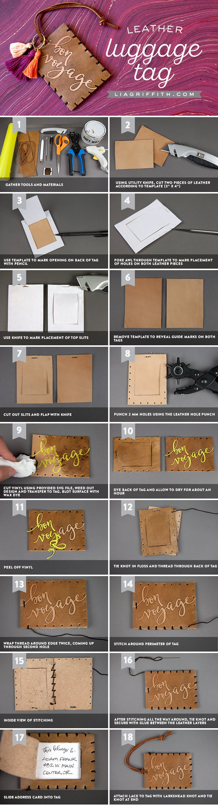 Luggage Tag Insert Template Luxury How to Make Your Own Luggage Tags
