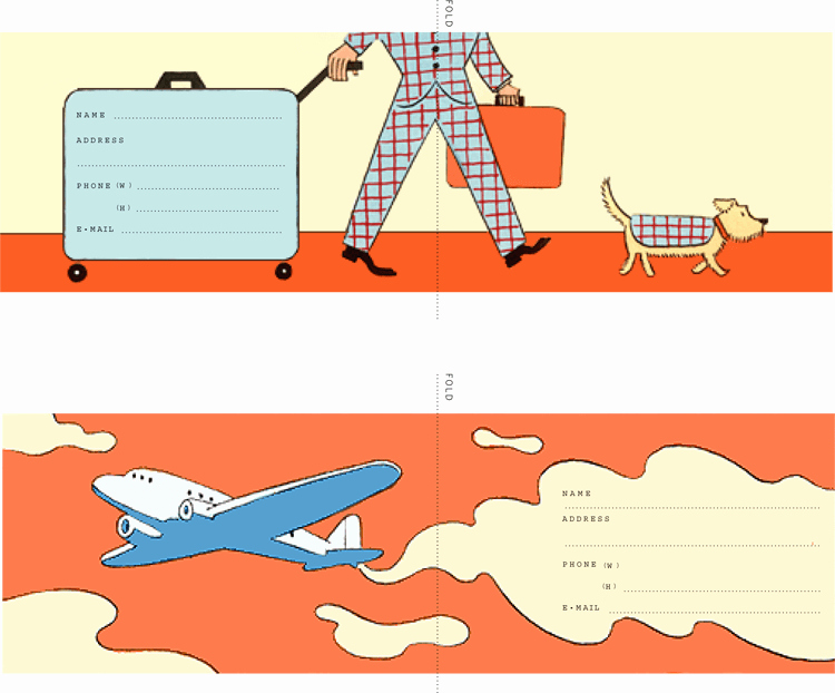 Luggage Tag Template Word Best Of Free Luggage Tag Templates for Microsoft Word
