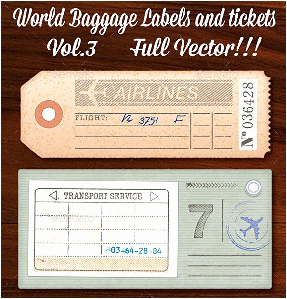 Luggage Tag Template Word Lovely Luggage Tag Template Word