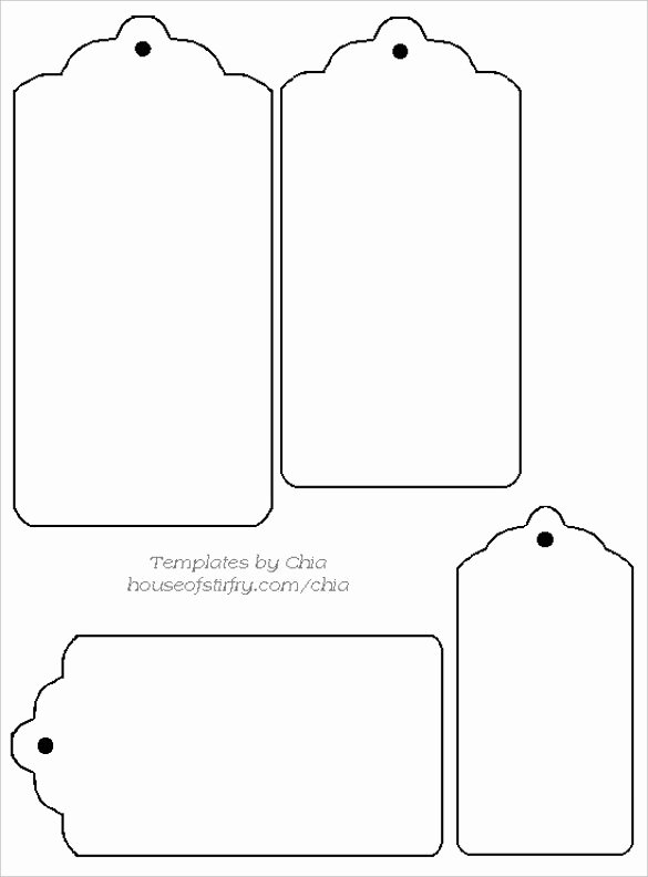 Luggage Tag Template Word Luxury 14 Free Tag Templates – Free Sample Example format Download