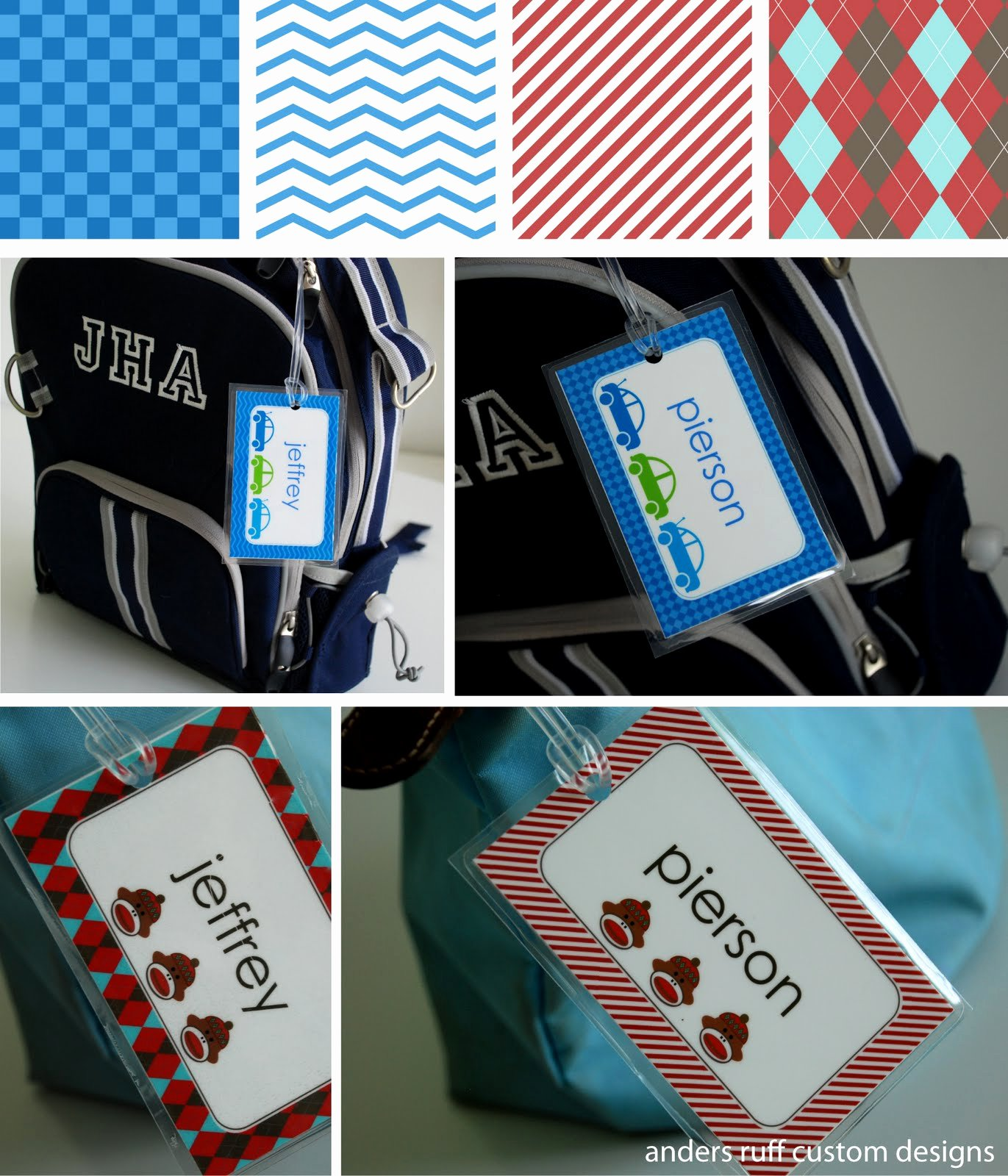 Luggage Tag Template Word New Free Printable Diy Bag Tag Template Great for Back to School anders Ruff Custom Designs Llc