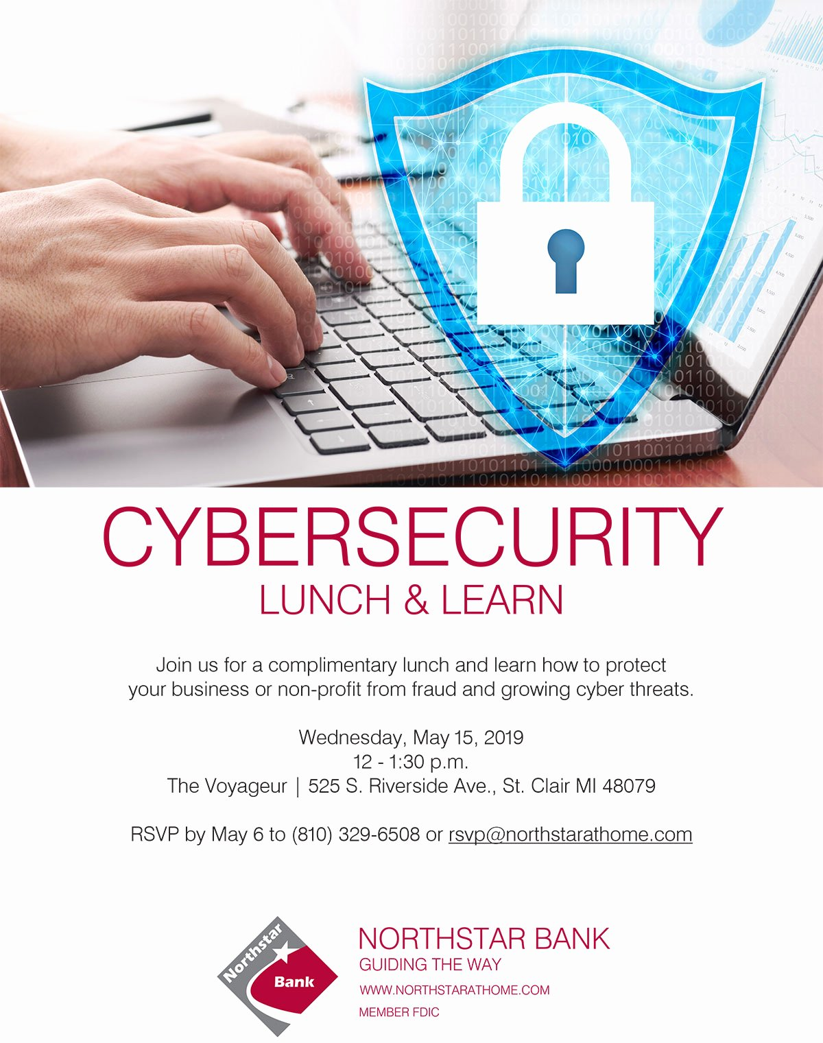 Lunch and Learn Invites Elegant Cyber Security Lunch and Learn – St Clair Michigan Chamber Of Merce