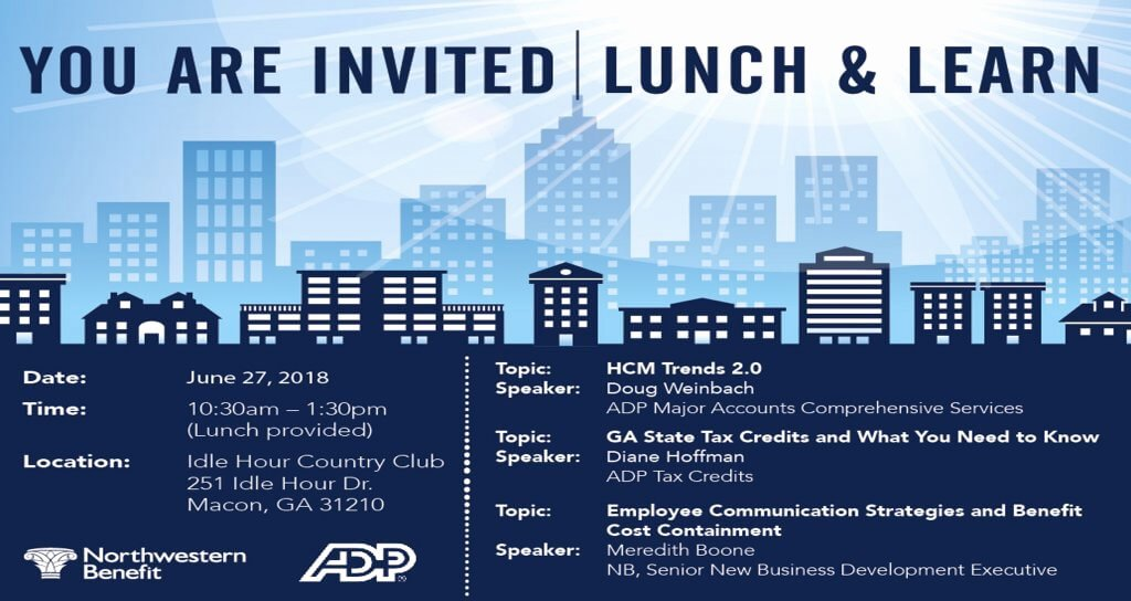 Lunch and Learn Invites Luxury Macon Lunch and Learn Invite Nwb