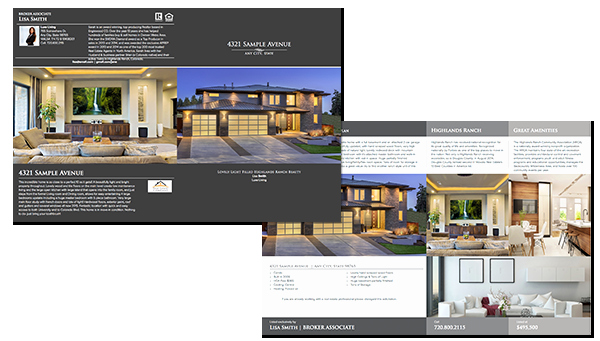 Luxury Real Estate Brochures Awesome Ledger Size Luxury Brochure