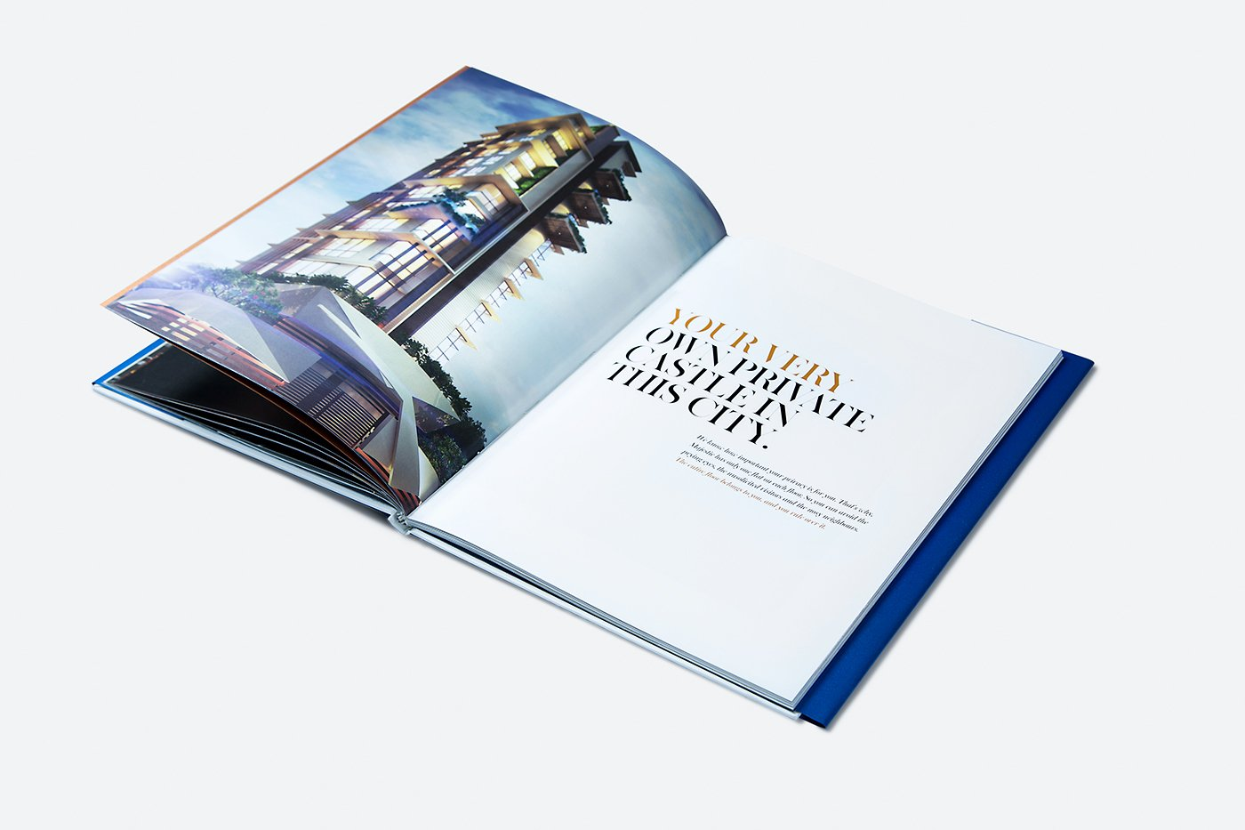 Luxury Real Estate Brochures Awesome Majestic Luxury Real Estate Brochure On Behance