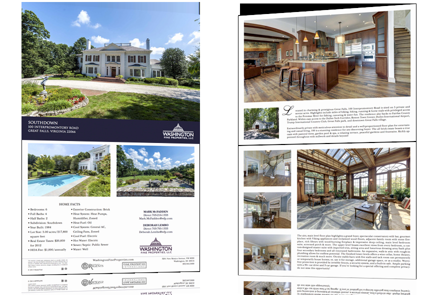 Luxury Real Estate Brochures New Homevisit Product Pricing