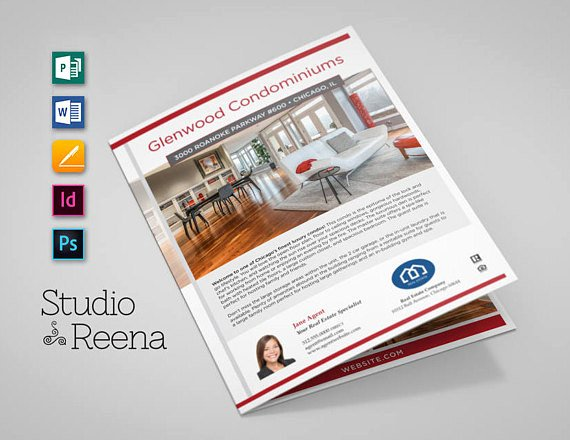 Luxury Real Estate Brochures New Luxury Real Estate Brochure Template Multi Flyer
