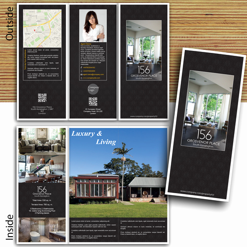 Luxury Real Estate Brochures New Tri Fold Luxury Real Estate Brochure Guaranteed